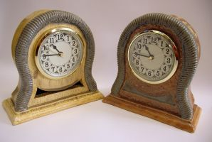 Pair of clocks by CreativelyStrange