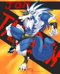 Wrestler Talbain Enters the Ring! by HungotheNomster