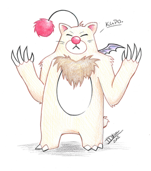 Moogle Bear by the-peppermint-kid