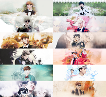 [Pack Cover] Happy EXO's 2nd Anniversary by Emilybbz