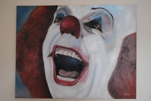 pennywise by funkyralph