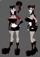Elissa Ravenslade  Little Ref Sheet by SLB-CreationS