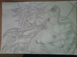 Broly by Dante2060