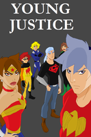 Young Justice: Beyblade Style by tifafenrir09