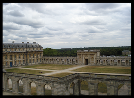 Castle of Vincennes by BluePalmTree