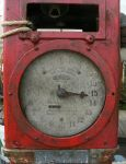 Really old gas pump by finhead4ever