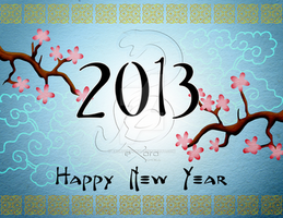 Exoro Choice's 2013 Chinese New Year Cards 04 by ExoroDesigns