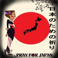 Pray for Japan by DuctPrincess