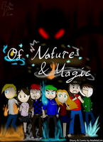 YT AU comic: Of Nature and Magic cover by MaiMaiLim
