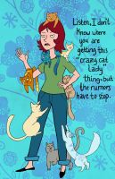 Crazy Cat Lady 2LK by Phee