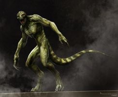Amazing Spiderman Lizard design1 by JSMarantz