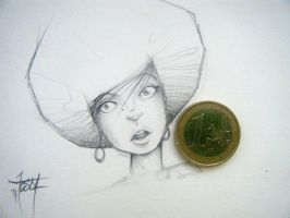 mini sketch by TesdA