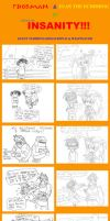 RP Comic - Wrestling Insanity by EUAN-THE-ECHIDHOG