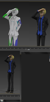 Sanji Rig and Pose by iNeoBlitz