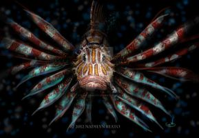 Pterois volitans by NadilynBeato
