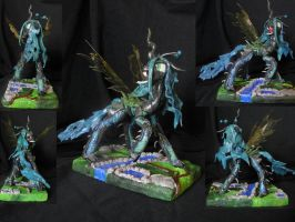 Queen Chrysalis Sculpture by RetardedDogProductns