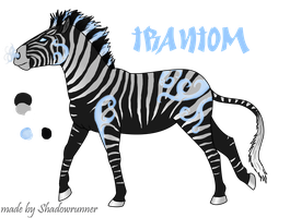 Zebra Chara for Contest by Wolf-Shadowrunner