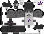 Cubeecraft Halloween Horror Nights The Caretaker 1 by SKGaleana