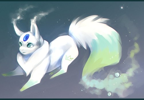 new bby by ScribbleWoof