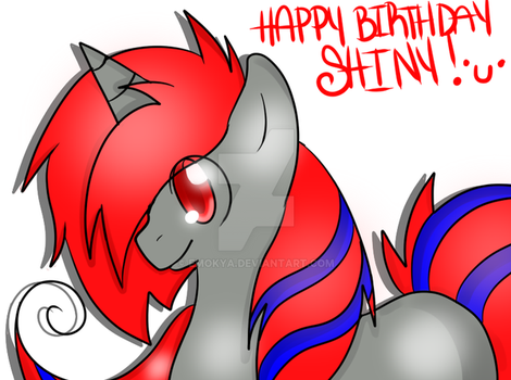 Happy Birthday Shiny! by EmoKya