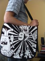 My old bag. Finished. by stix47