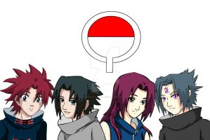Uchiha Kids - Itoko by XxRavenUchihaxX