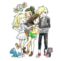Alola Kids by racfr