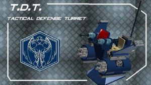 Tactical Defense Turret by theomegareaper101