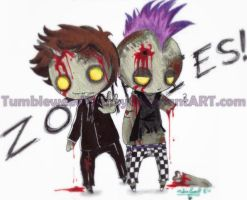 .:ZOMBIES:. by TumbleweedFrenzy