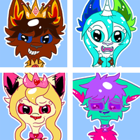 Character Icons by LightGoesRawr