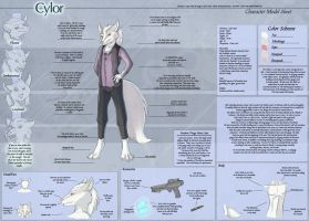 Cylor - Character Sheet by Ulario