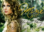 Mine font by ohperfectswift