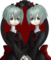 Gothic Twins by SeppukuAddict