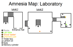 Amnesia Map: Laboratory by HideTheDecay