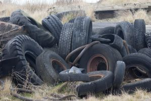 Dumped Tyres by saltedm8