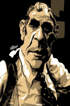 Abe Vigoda as Detective Phil Fish by wooden-horse