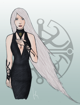 Dreamfall - The White of the Draic Kin by cheesylily02