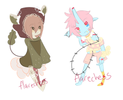 Flat Chibis for Eclair~ by flarechess