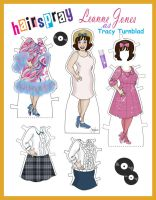 Tracy Turnblad Paper Doll by Cor104