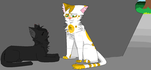 Fallen Leaves and Hollyleaf by 123BROKENSOUL666
