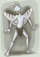 not a mothman by ZazzyPaws