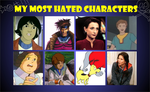 Most Hated Characters Meme by Omegaville