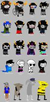 Homestuck according to my sister by splee568