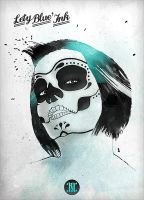 Lety's mexican skull face by Resonance-crea