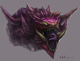 Tarrasque by garychen1116