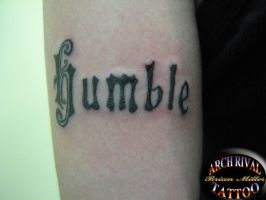Humble by theothertattooguy