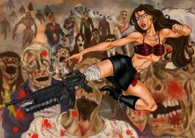 PLANET TERROR Grindhouse by studioquimera