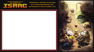 Binding of Isaac Stream Background / Skin by Moelleuh