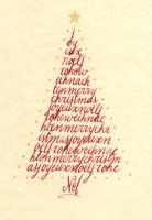 Christmas tree 1 by Alpacalligraphy