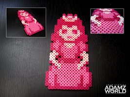 Princess Toad Stool - Perler Beads by Adamzworld